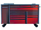 CRAFTSMAN BTM TOOLBOX  3-DRAWER RED/BLK